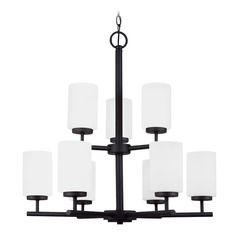 Sea Gull Lighting Oslo Blacksmith LED Chandelier