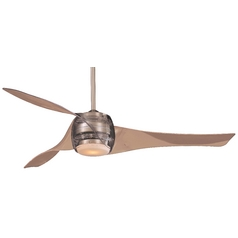 58-Inch Ceiling Fan with Three Blades and Light Kit