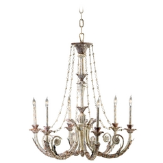 Cyan Design Abelle Parisian White Chandelier