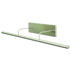 House Of Troy Slim-Line Satin Nickel LED Picture Light