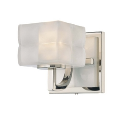 Single-Light Pillow Glass Sconce
