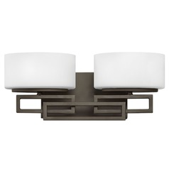 Hinkley Lighting Lanza Buckeye Bronze Bathroom Light