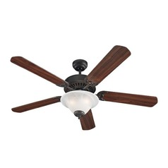 Sea Gull Lighting Quality Pro Delux Ceiling Fans Roman Bronze Ceiling Fan with Light