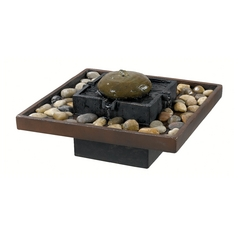 Indoor Fountain in Two Toned Bronze Finish