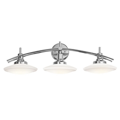 Kichler Lighting Structures Chrome Bathroom Light