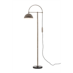 Arteriors Home Lighting Jillian Vintage Silver / White Floor Lamp