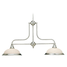 Dolan Designs Lighting Two-Light Island Pendant 662-09