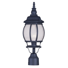 Livex Lighting Frontenac Black Post Light