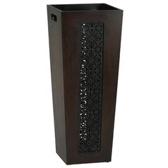 Cyan Design Heritage Mahogany & Rustic Iron Cabinets / Storage / Organization