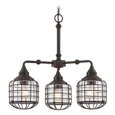 Savoy House Lighting Connell English Bronze Chandelier