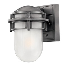 Hinkley Lighting Reef Hematite LED Outdoor Wall Light