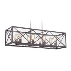Designers Fountain High Line Satin Bronze Island Light