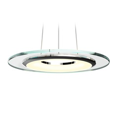 Sonneman a Way Of Light Float Polished Chrome LED Pendant Light