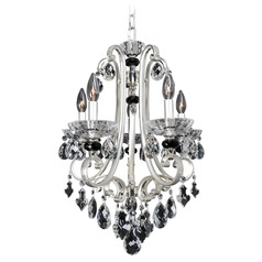 Allegri Bedetti 5-Light Chandelier in 2-Tone Silver