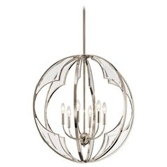 Kichler Lighting Montavello Polished Nickel Chandelier