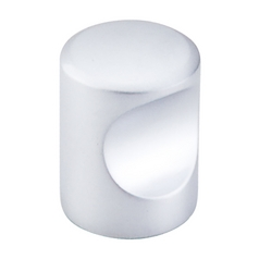Modern Cabinet Knob in Aluminum Finish
