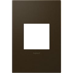Legrand Adorne Bronze 1-Gang Switch Plate