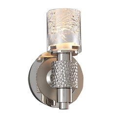 Kalco Lighting Ashington Polished Satin Nickel Sconce