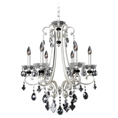Bedetti 6 Light Crystal Chandelier