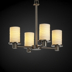 Justice Design Group Limoges Collection Mini-Chandelier