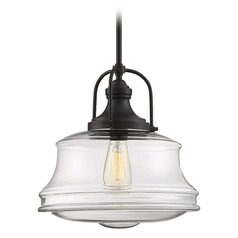 Savoy House Lighting Garvey English Bronze Pendant Light