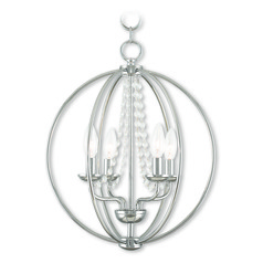 Livex Lighting Arabella Polished Chrome Mini-Chandelier