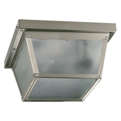 Quorum Lighting Satin Nickel Close To Ceiling Light