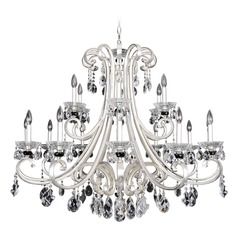 Bedetti 18 Light Crystal Chandelier