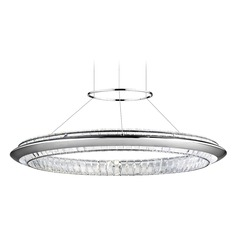 Elan Lighting Joez Chrome LED Pendant Light