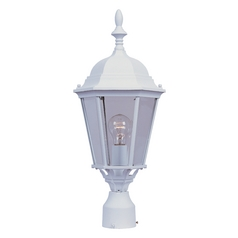 Maxim Lighting Westlake White Post Light