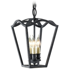 Pendant Light in Antique Forged Iron Finish