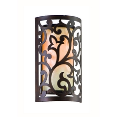 Corbett Lighting Philippe Tahitian Bronze Sconce