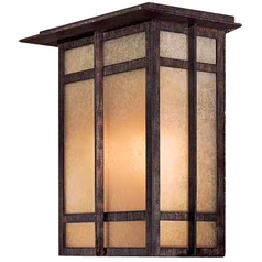 Minka Lighting 11-3/4-Inch Outdoor Wall Light 71198-A357-PL