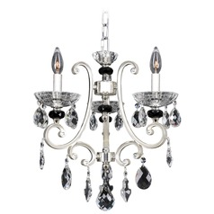 Allegri Bedetti 3-Light Chandelier in 2-Tone Silver