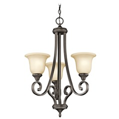 Kichler Lighting Monroe Olde Bronze LED Chandelier
