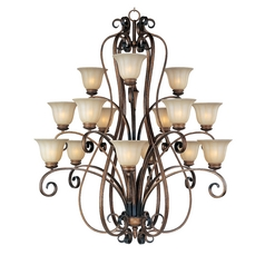 Maxim Lighting Fremont Platinum Dusk Chandelier
