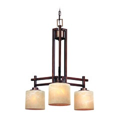 Dolan Designs 3-Light Chandelier in English Bronze