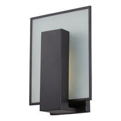 Modern LED Sconce Wall Light in Aged Bronze Finish