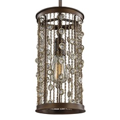 Feiss Colorado Springs Chestnut Bronze Mini-Pendant Light