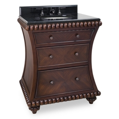 Bathroom Vanity in Rosewood Finish