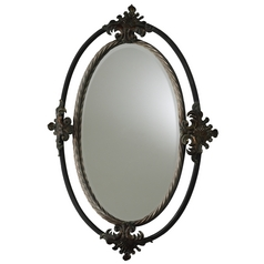 Hayworth Oval 25-Inch Mirror