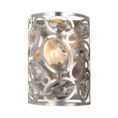 Crystorama Lighting Sterling Distressed Twilight Sconce