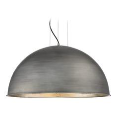 Farmhouse Barn Light Zinc / Silver Leaf Sommerton by Savoy House