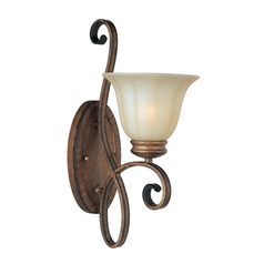 Maxim Lighting Fremont Platinum Dusk Sconce