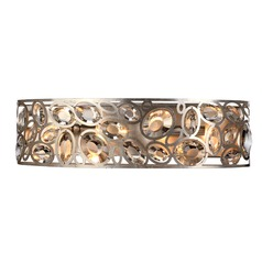 Crystorama Lighting Sterling Distressed Twilight Bathroom Light