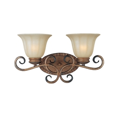 Maxim Lighting Fremont Platinum Dusk Bathroom Light