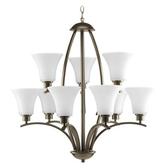 Progress Lighting Joy Antique Bronze Chandelier