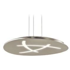 Elan Lighting Orku Brushed Nickel LED Pendant Light
