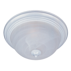 Maxim Lighting Essentials White Flushmount Light