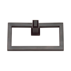 Modern Towel Ring in Venetian Bronze Finish